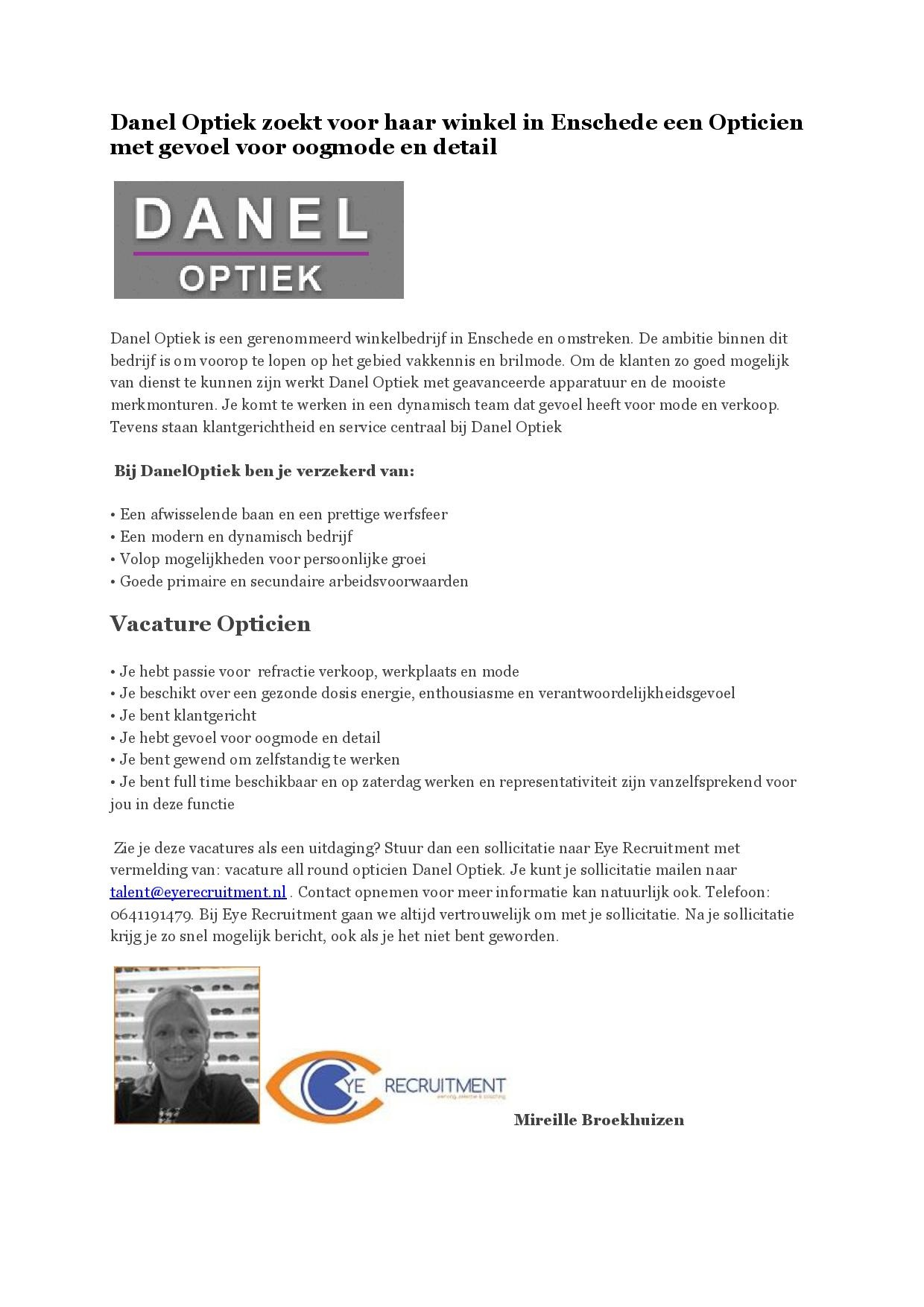 Advertentie Danel Optiek allround opticien-page-001