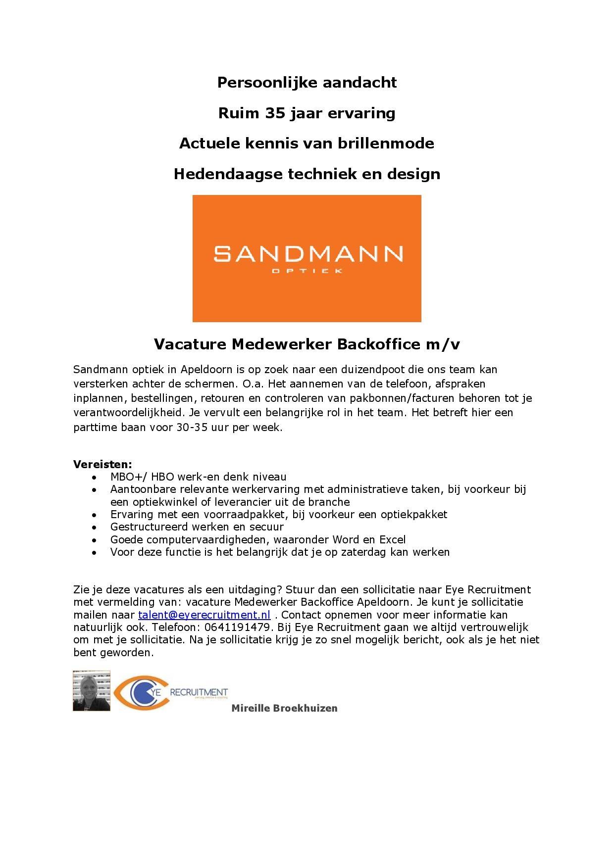 Advertentie Sandmann medewerker backoffice-page-001