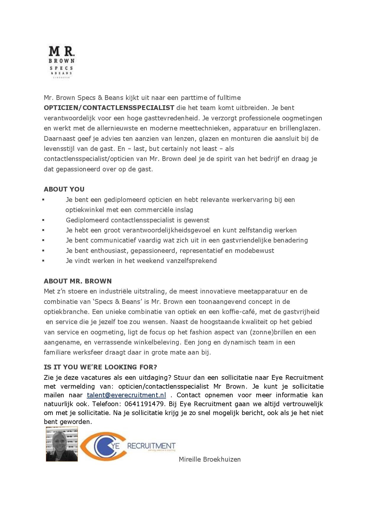 advertentie Mr. Brown csp nieuw