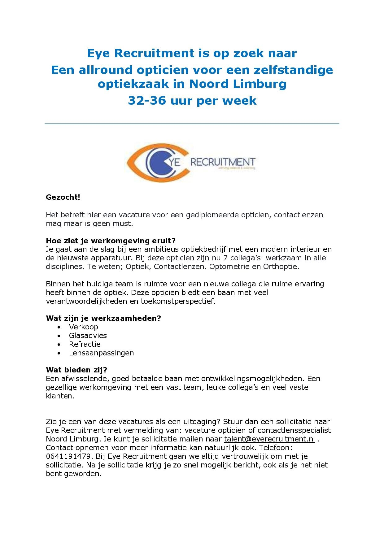 vacature opticien van Essen Optiek-page-001